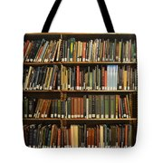 Bookshelves Tote Bag