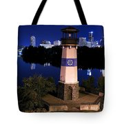 Boom Island Light House Tote Bag