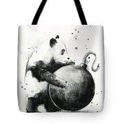 Boom Panda Tote Bag