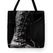 Medieval Faire Boot Detail Tote Bag