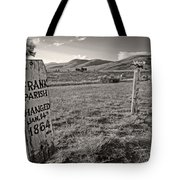 Boot Hill - Virginia City - Montana Tote Bag