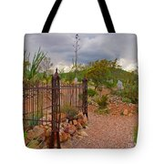 Boothill Cemetary Image Tote Bag