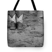 Boots And Horse Hooves Tote Bag