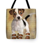 Boots For Baxter Tote Bag