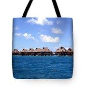 Bora Bora Lagoon Tote Bag