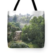 Bordeaux Village Cloud Of Smoke  Tote Bag