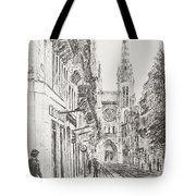 Bordeaux Tote Bag