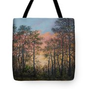 Border Pines Tote Bag