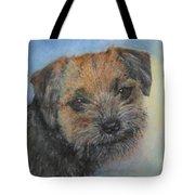 Border Terrier Jack Tote Bag