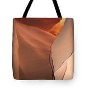 Bordered Rock - Antelope Canyon Tote Bag