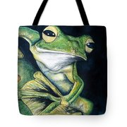Boreal Flyer Tree Frog Tote Bag