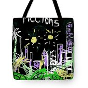Borges Fictions Poster  Tote Bag