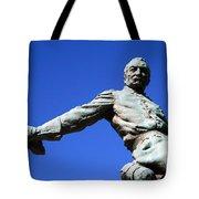 Borglum's General Philip Sheridan -- A Partial View Tote Bag