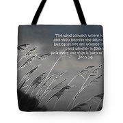 Born Of The Spirit Tote Bag
