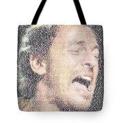 Born To Run Mosaic Tote Bag