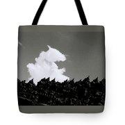 Borobudur Sky Cloud Tote Bag