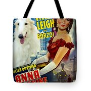 Borzoi Art - Anna Karenine Movie Poster Tote Bag