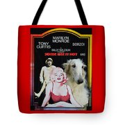 Borzoi Art - Some Like It Hot Movie Poster Tote Bag
