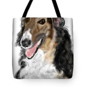 Borzoi Handsome Tote Bag
