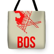 Bos Boston Airport Poster 1 Tote Bag
