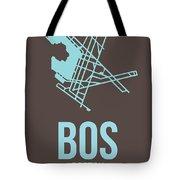 Bos Boston Airport Poster 2 Tote Bag