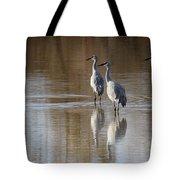 Bosque Del Apache Cranes Tote Bag