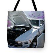 Boss 302 Mustang Tote Bag