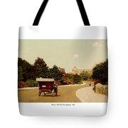 Boston - Back Bay Fens Speedway - 1915 Tote Bag