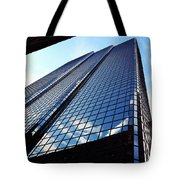 Boston Blue Glass Tote Bag