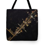 Boston City Skyline Tote Bag