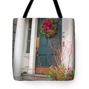 Boston Doorway Two Tote Bag
