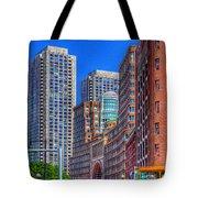 Boston Financial District Tote Bag