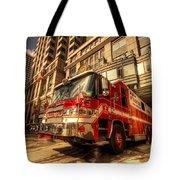 Boston Fire Truck  Tote Bag