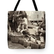 Boston Fish Market, 1909 Tote Bag