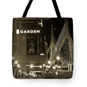 Boston Garder And Side Street Tote Bag