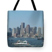 Boston Harbor July Fourth Tote Bag