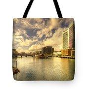 Boston Harbour  Tote Bag