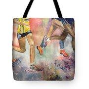 Boston Marathon Strength Tote Bag