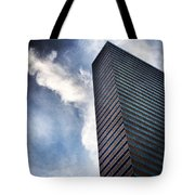 Boston Monolith Tote Bag