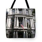 Boston Old City Hall Tote Bag