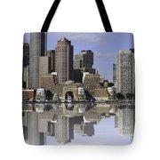Boston Reflections Tote Bag