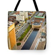 Boston Rooftops Tote Bag