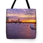 Boston Sky Tote Bag by Joann Vitali