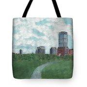 Boston Skyline 1968 Tote Bag