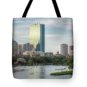 Boston Skyline I Tote Bag