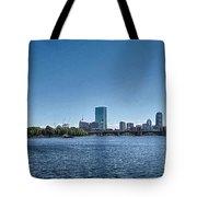 Boston Skyline II Tote Bag