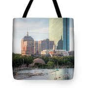 Boston Skyline II Tote Bag