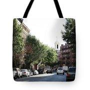 Boston Streetscene  Tote Bag