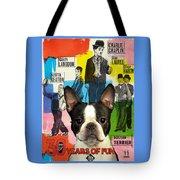 Boston Terrier Art - 30 Years Of Fun Movie Poster Tote Bag