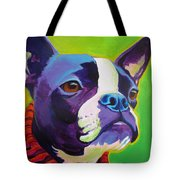 Boston Terrier - Ridley Tote Bag by Alicia VanNoy Call